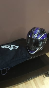 Blue and black Vega full face helmet Kitchener, N2E 4C4