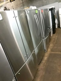 French doors refrigerator excellent condition  Baltimore, 21223