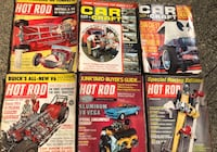 Hot Rod Car Magazines 1960s Vintage $5 for all