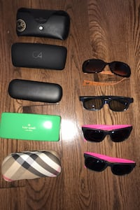 All - $15 J Lo pair just needs new screws  2 pair 3D Burberry for $18 Vaughan, L4L 9H2