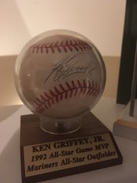 Ken Griffey Jr autograph baseball Woodbridge, 22191