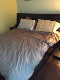 Wooden Queen bed frame Toronto, M5J