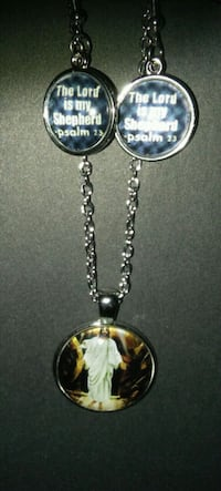 Psalms 23 Necklace & Earrings Set NEW Grove City