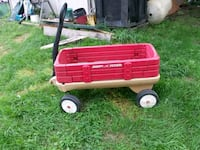 red and black Radio Flyer pull wagon Wadsworth, 44281