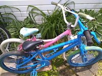 His and hers BMX bikes