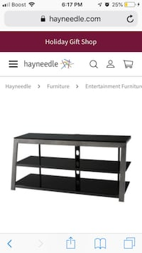 """Brand New 48""""inch TV stand thats Still in box! $100 firm! I paid$200. Detroit, 48202"""