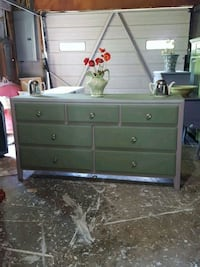 Pale green and grey dresser Nashville, 37221