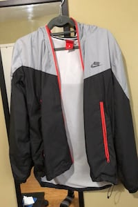 Nike Windbreaker  Grey & Black colour way Toronto, M9W 1V4