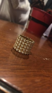 Size 5, white and gold colored ring  Clarkstown, 10954