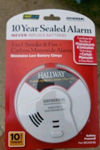 Smoke, Fire, and Carbon Monoxide Detector  Des Moines, 50310