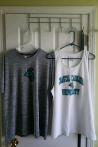 Coastal Carolina University (2) shirts Longs, 29568
