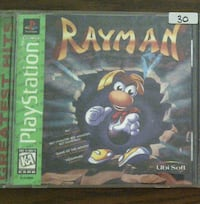 Rayman for Playstation 1 PS1 Vaughan, L4L