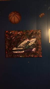 black and white Nike Air Max 90 painting Fargo, 58103