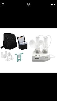 white and black electric breast pump set Woodbridge, 22192