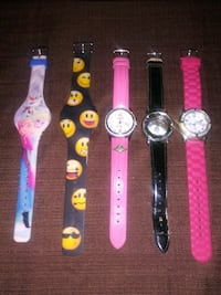 5 Ladies/Girl Watches ** Set 3 Virginia Beach, 23454