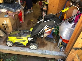 Ryobi 40v lawnmower works good no battery or charger