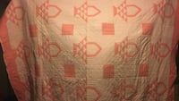 pink and white area quilt London, N5Y 3J4