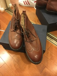 pair of brown leather dress shoes Silver Spring, 20910
