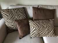 2 large/2 small  suede pillows Vancouver, V5K 2Y3