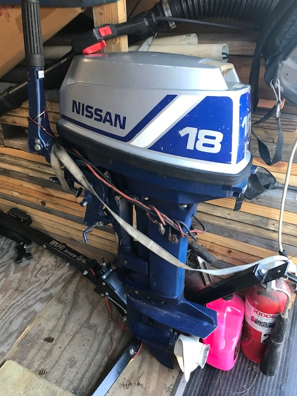 Used Nissan 18 Hp Outboard For In Palm Coast