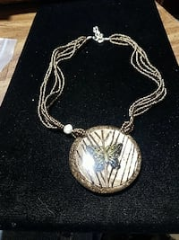 Beaded Butterfly Necklace Hot Springs, 71901