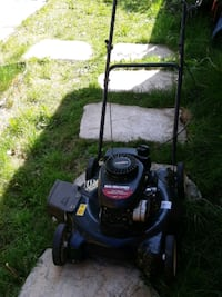 Yard machines for cut grass