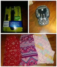Infant car seat ..Mens trimmer..3 pairs of lularoe Camden, 19934