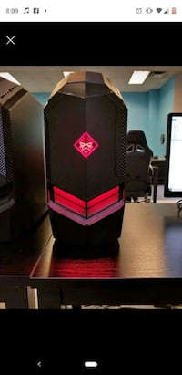 Hp Omen 880-160se gaming computer, with monitor