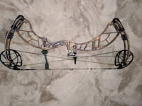 Compound bow with rest