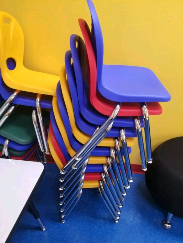 Small children's chairs