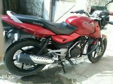 Pulsar 150 red colours lowest price