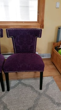 Accent chairs in good condition.$  45 each. 2 chairs  total.