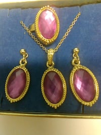 Adjusting ring, necklace and earrings Grand Junction, 81505