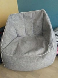 gray and white fabric sofa chair Surrey, V3T 4B8