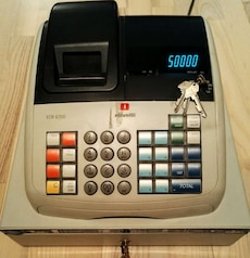 Olivetti ECR 6700 cash register