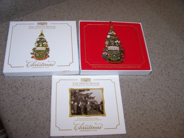 White House Historical Association Christmas Ornament 2015