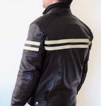 Cafe racer Out Spade  leather jacket STOCKHOLM