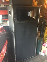Black single-door refrigerator Ottawa, K1B