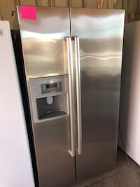 Bosch Counter Depth Stainless Steel Refrigerator Side By Side
