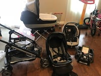 black and gray stroller and car seat carrier Woodbridge, 22192