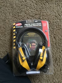 black and yellow corded headphones Richland, 99354