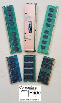 Various desktop and laptop memory - see list Toronto