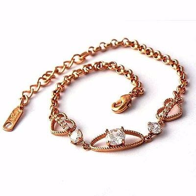 18K Rose Gold Filled Bracelet