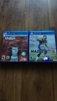 NBA 2K14 & Madden 15 (PS4)