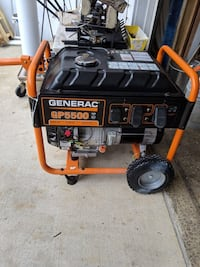 Black and orange generac gp5500 portable generator Gaithersburg, 20879