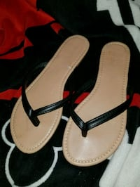 pair of brown-and-black sandals Hedgesville, 25427