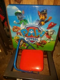 Used Kids table with one chair only $10 only