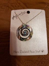Paua Shell Necklace 25 mi