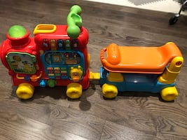 Ride on Toy Vtech Sit & Stand toy Train.