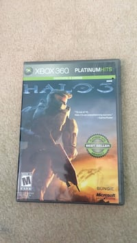 Xbox 360 Halo 3 game case Burke, 22015